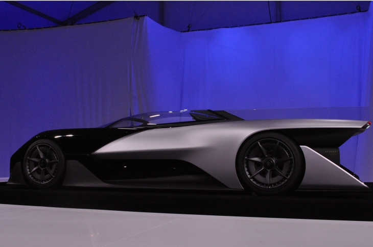 Electric Car Company Faraday Future Unveiled Its First Concept The Ffzero1 At Ces 2016 This Evening In Las Vegas Nevada And True To Earlier Leaked
