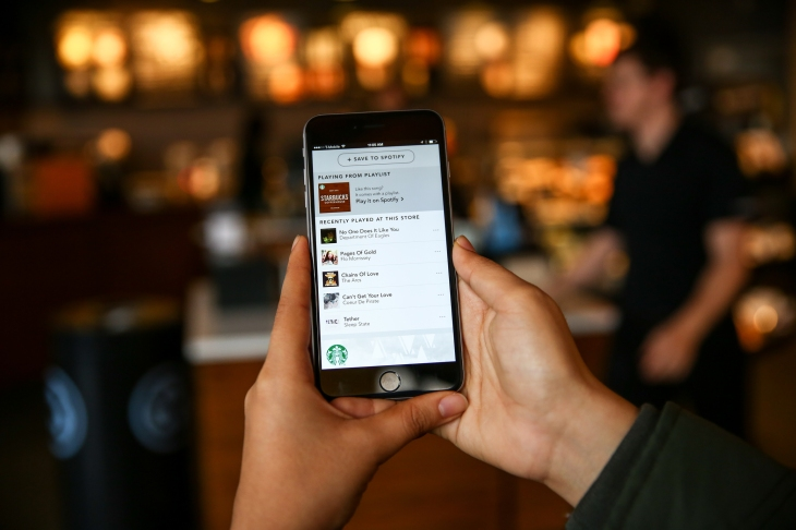 Starbucks Now Lets You Save The Songs You Heard In-Store To
