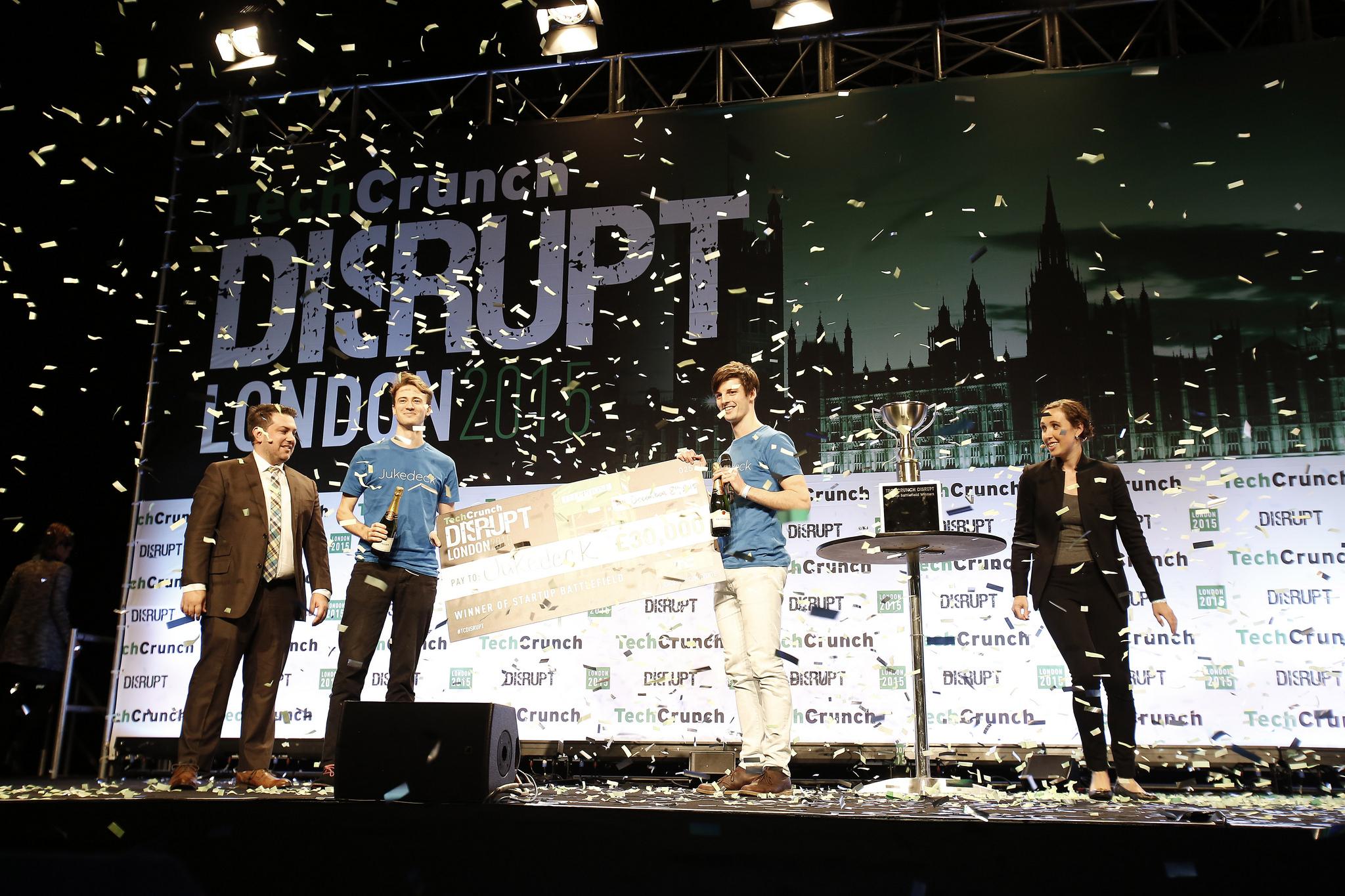 Jukedeck Startup Battlefield Disrupt London 2015