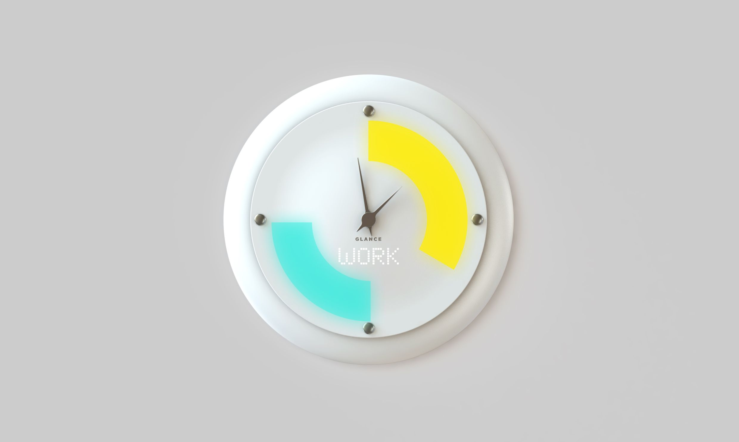 Meet glance a smart wall clock that displays more than the time meet glance a smart wall clock that displays more than the time techcrunch ccuart Choice Image