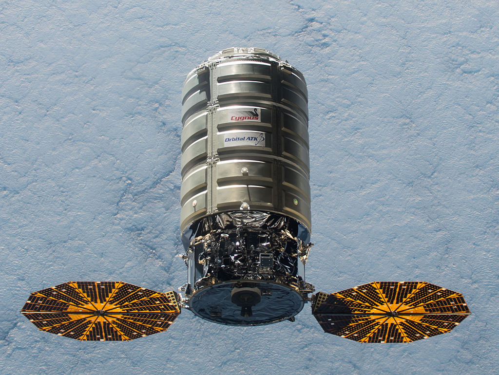 Cygnus Vehicle / Image Courtesy of NASA