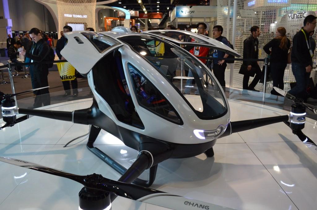 Cadillac Reveals VTOL Drone Concept at CES » UAV DACH e.V.