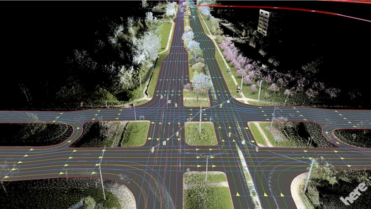 Here Launches Cloud Based Maps For Automated Driving Techcrunch
