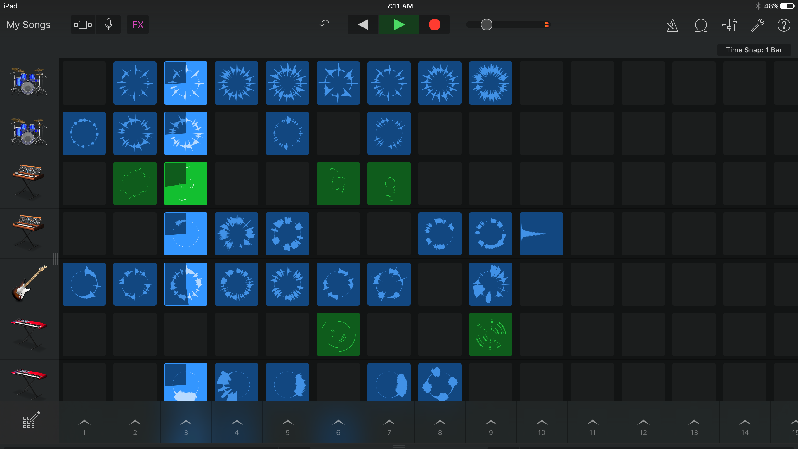 Apples new garageband for ios is an electronic musicians dream apples new garageband for ios is an electronic musicians dream techcrunch baditri Images