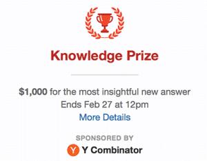 Quora Prize
