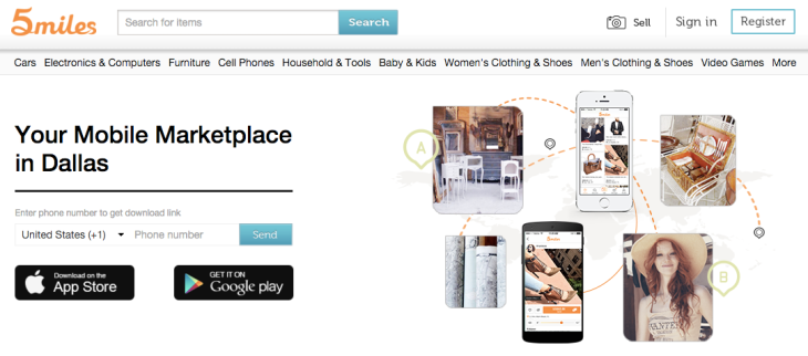 Mobile App 5miles Raises 30m At A 300m Valuation To Rival