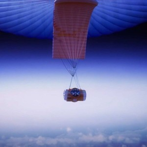 World View's high altitude balloon with pressurized capsule / Image courtesy of World View Enterprises
