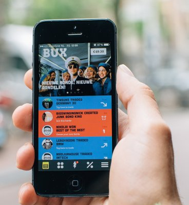 casual trading app bux pulls in another 6 9m in funding techcrunch. Black Bedroom Furniture Sets. Home Design Ideas