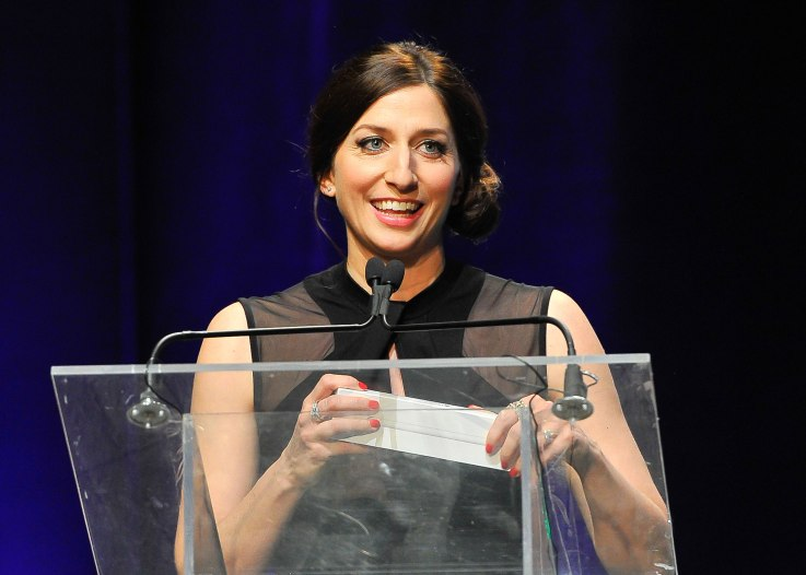 SAN FRANCISCO, CA - FEBRUARY 08: Chelsea Peretti Emcee's the TechCrunch 9th Annual Crunchies Awards at War Memorial Opera House on February 8, 2016 in San Francisco, California. (Photo by Steve Jennings/Getty Images for TechCrunch)