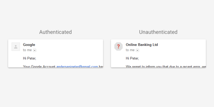 authenticated gmail