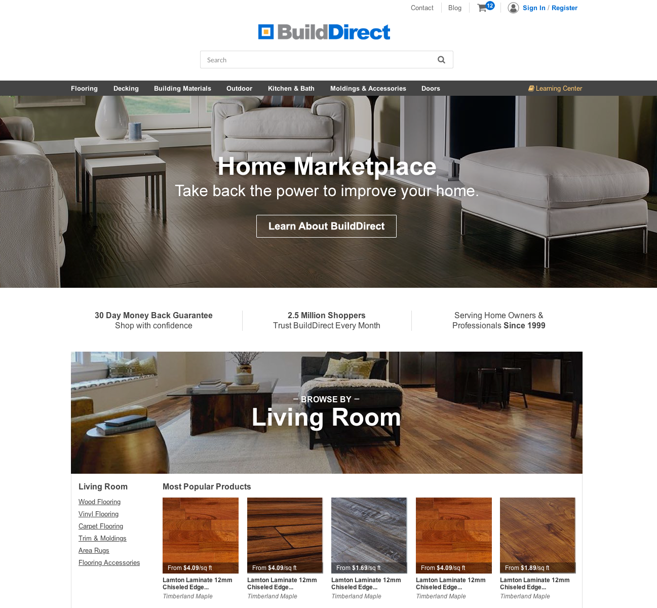 BuildDirect Home Marketplace Homepage_3