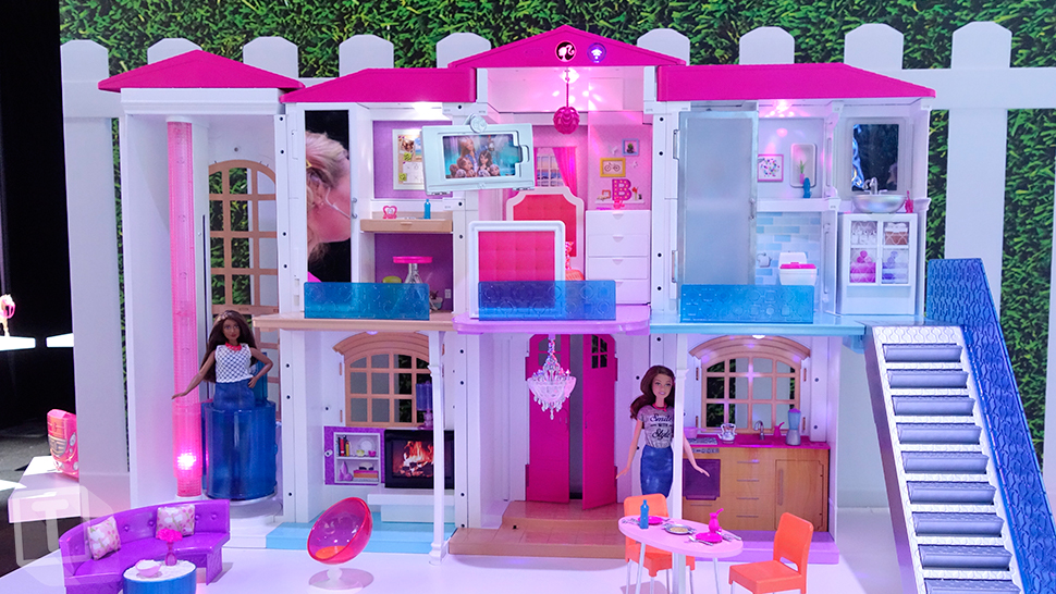 Exceptional Dreamhouse. Consumers May Have Been Slow To Adopt Smart Home Technology,  But Thatu0027s Not The Case For Barbie. At The Recent New York Toy Fair, ...