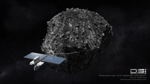 Asteroid mining concept / Image courtesy of Deep Space Industries