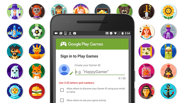 google decouples play games from google lets gamers choose their