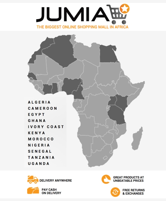 JumiaCountriesMap
