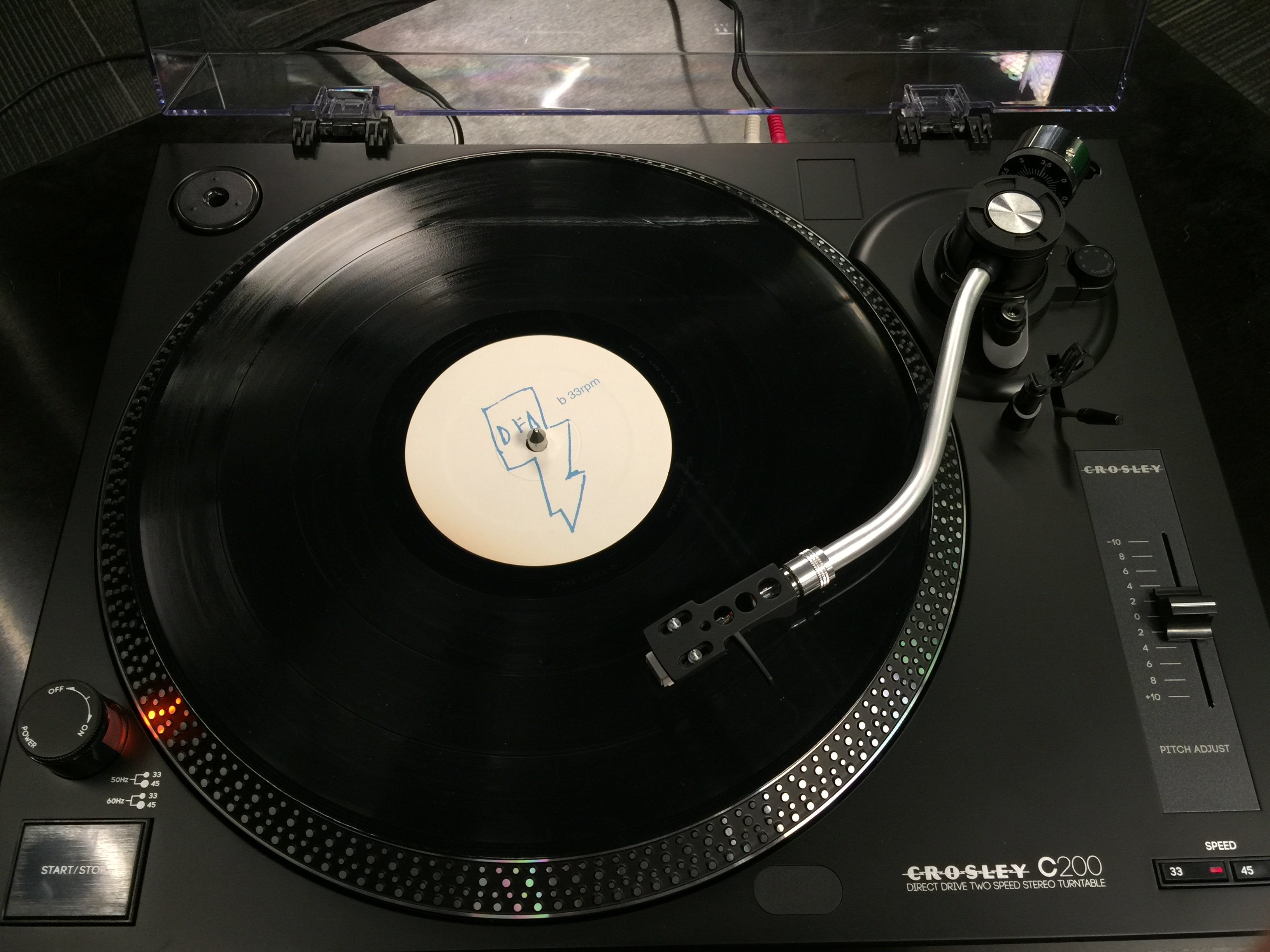 Crosley s first direct drive turntable doesn t disappoint for Direct drive turntable motor
