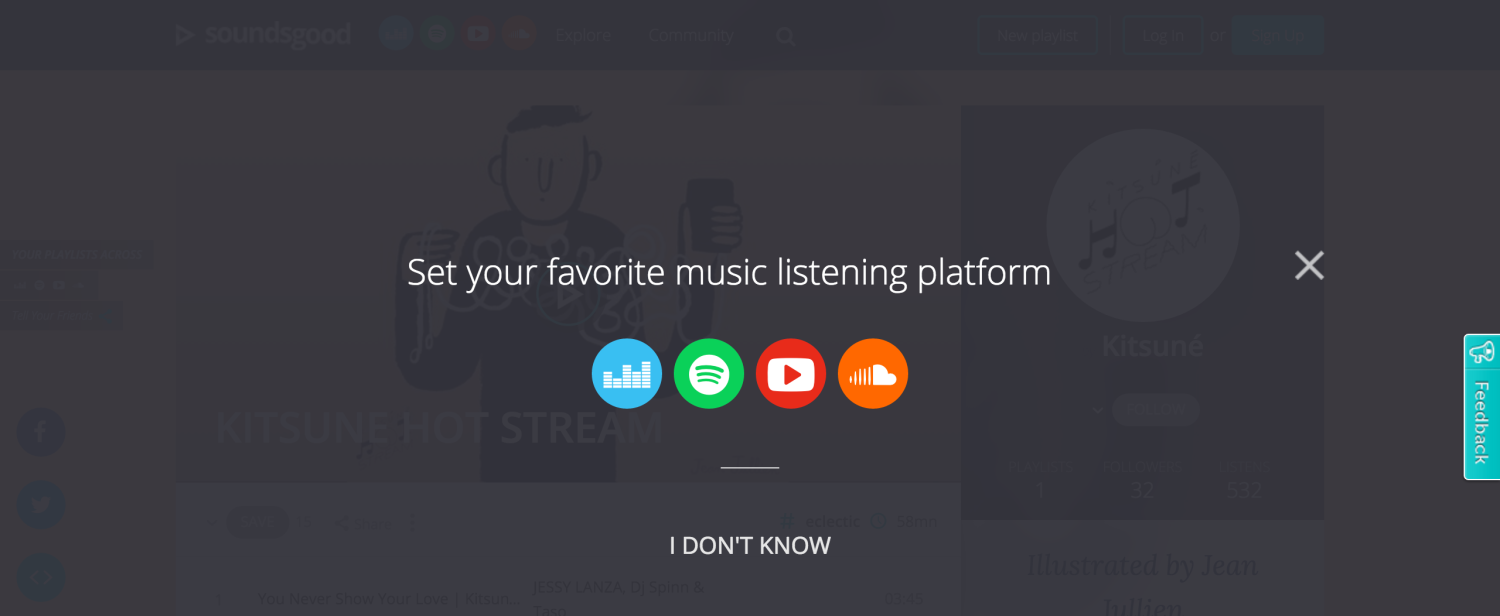 With Soundsgood, Create And Publish Playlists On All