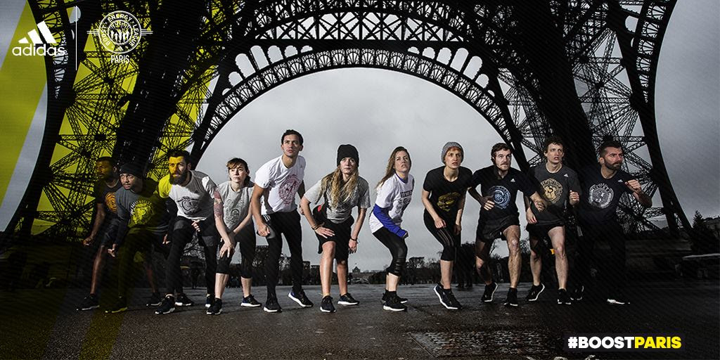 Boost Battle Run Paris by Adidas