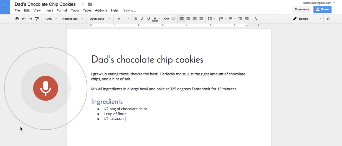 You Can Now Edit And Format Your Google Docs By Voice TechCrunch - How to edit google docs