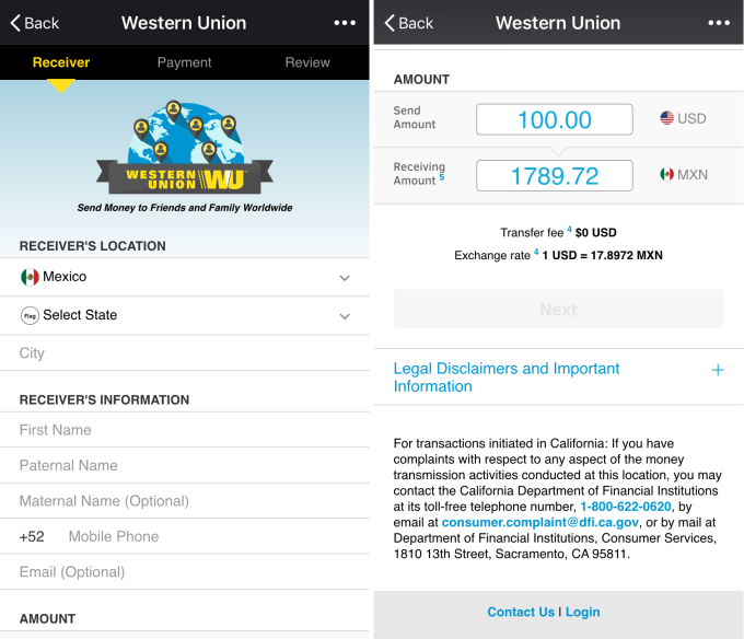 Western Union Brings Money Transfer And Its Tricky Fees To Chat Apps