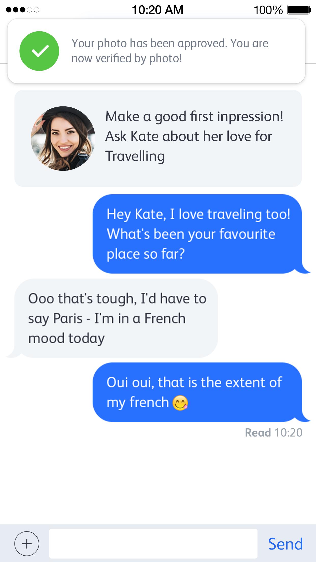 online dating sende bilder