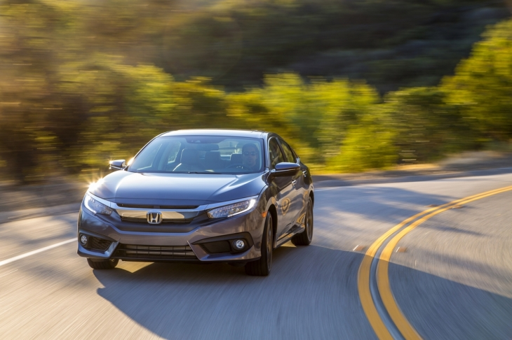 2016 Honda Civic Autonomous Features For 20k Techcrunch
