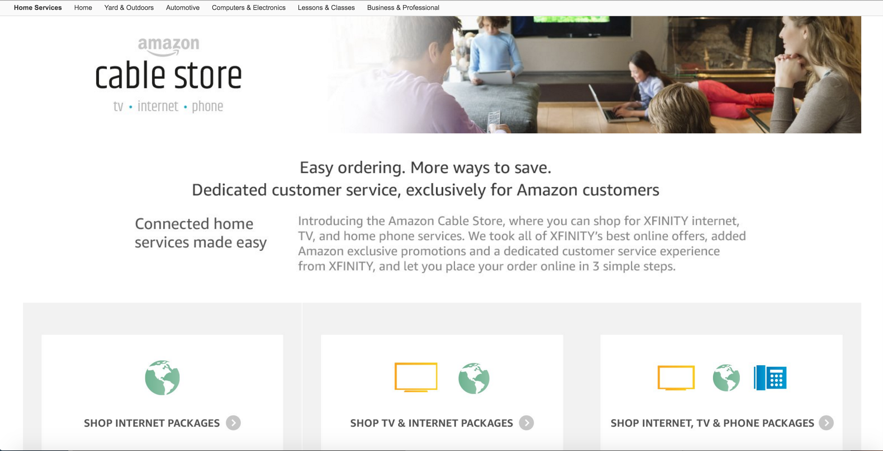 comcast new deals for existing customers