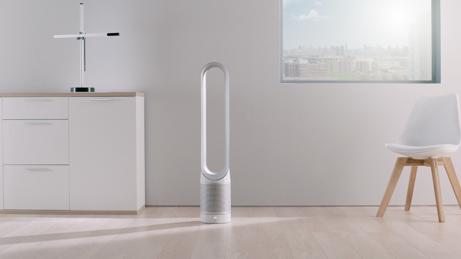 Dyson's new purifier fan purportedly tackles the problem of