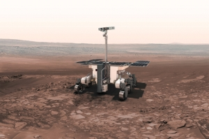 Illustration of ExoMars rover / Image courtesy of ESA