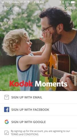 "Kodak tries its hand at social with new ""Kodak Moments"