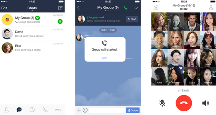 Messaging app Line now lets you host group calls with up to