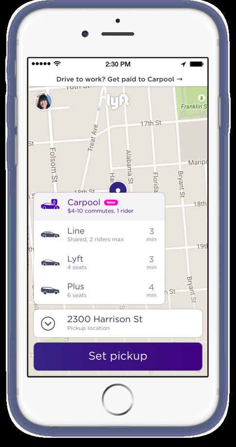 Lyft_Carpool_pax screen