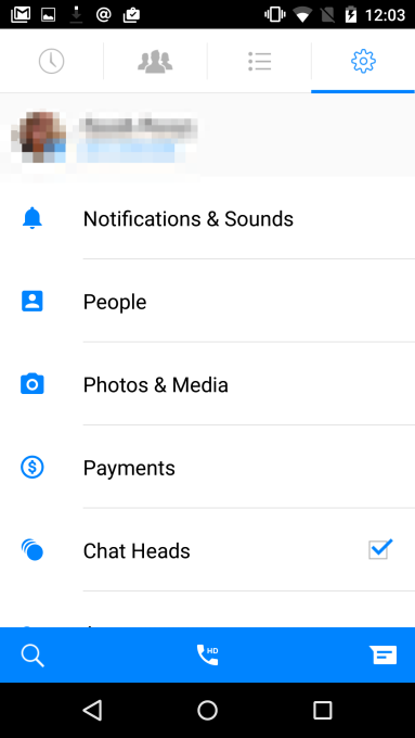 messenger-old-android