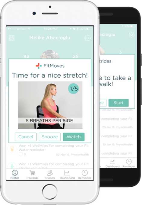 Physiohealth screenshot1