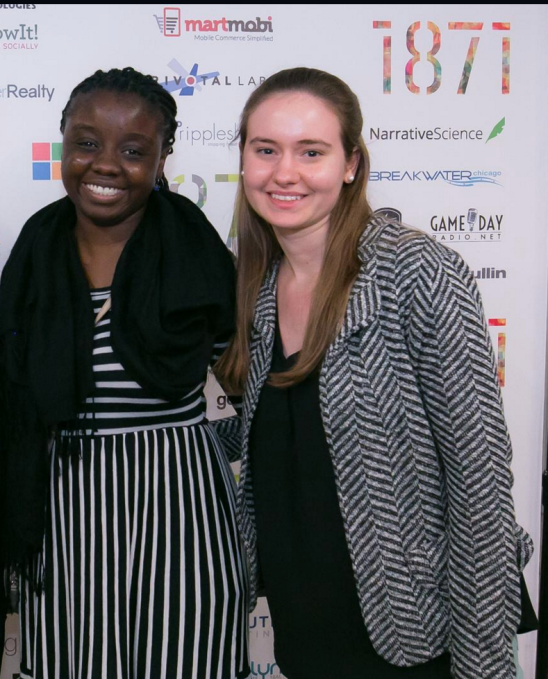 Rose Afriyie and Genevieve Nielsen, co-founders of mRelief.