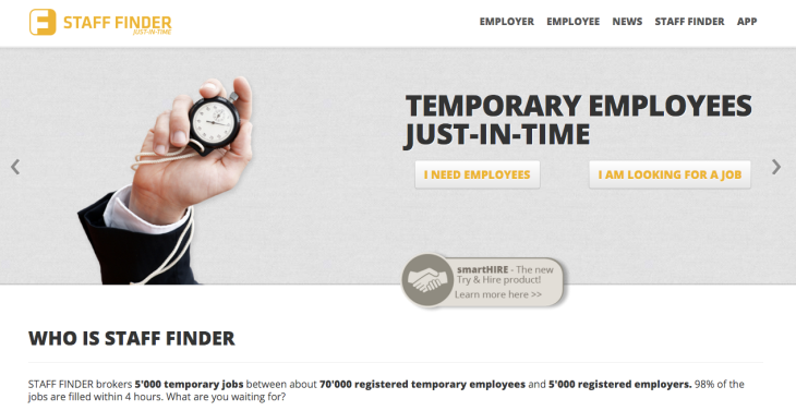 staff finder the on demand marketplace for temporary staff bags