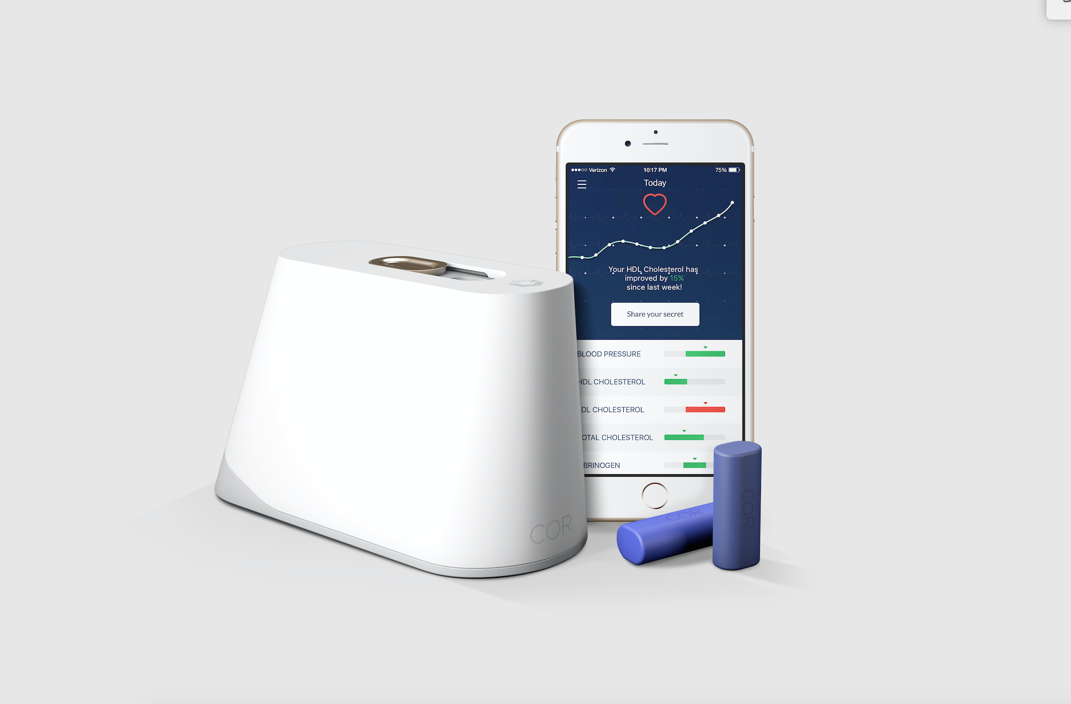 Former Apple exec launches at-home blood test startup