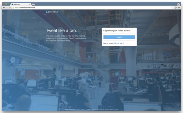 Twitter kills TweetDeck for Windows, automates log-ins for TweetDeck