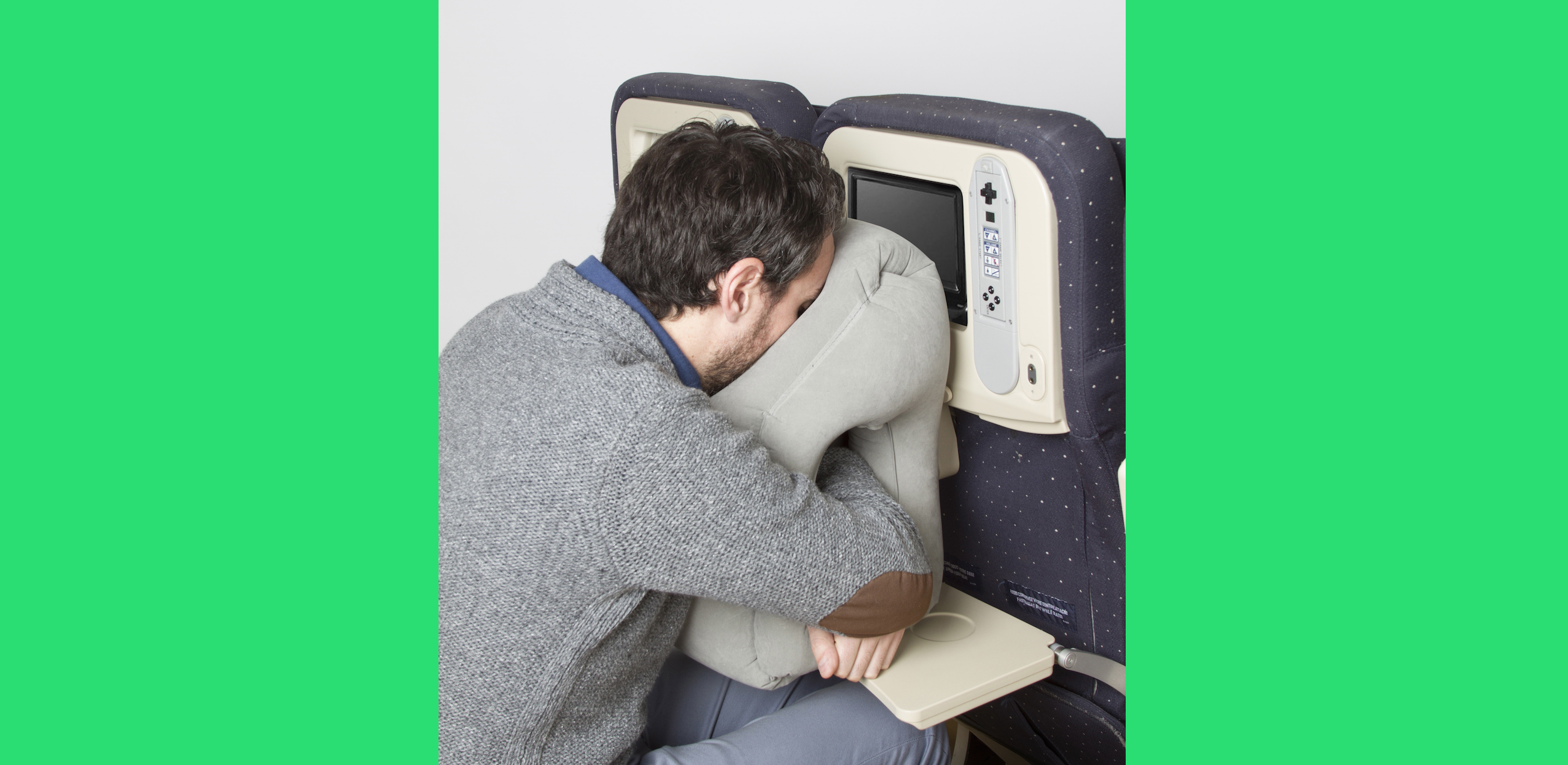 Face Plant Into This Airplane Tray Table Pillow Techcrunch