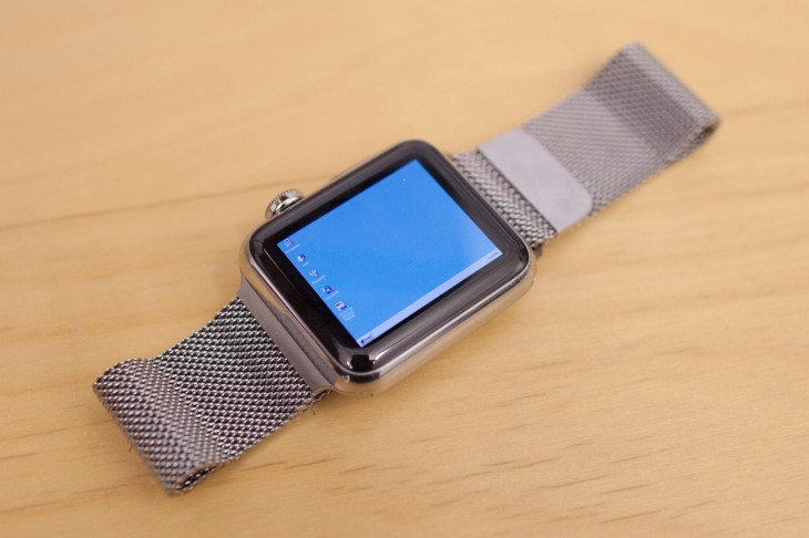 Windows 95 on the Apple Watch features the world's most twee Start