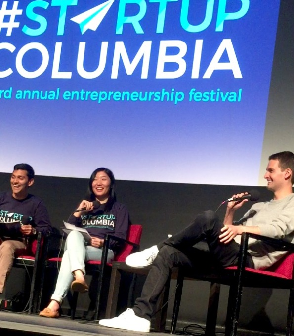 Evan Spiegel Snapchat StartupColumbia April 29 2016