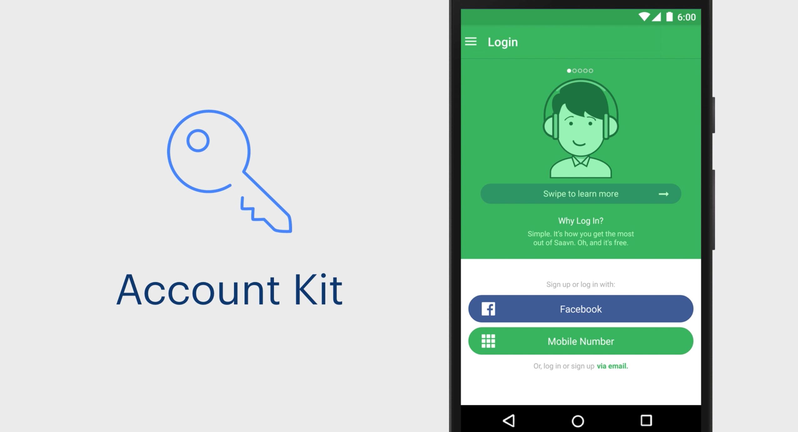 Incroyable Facebook Account Kit