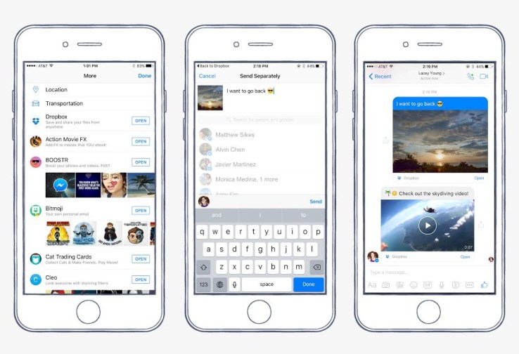 facebook-messenger-dropbox-screenshots