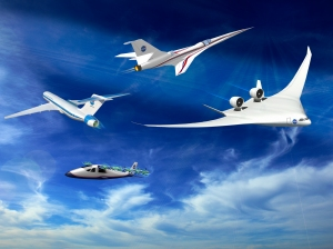 IIllustration of NASA X-plane concepts / Image courtesy of NASA