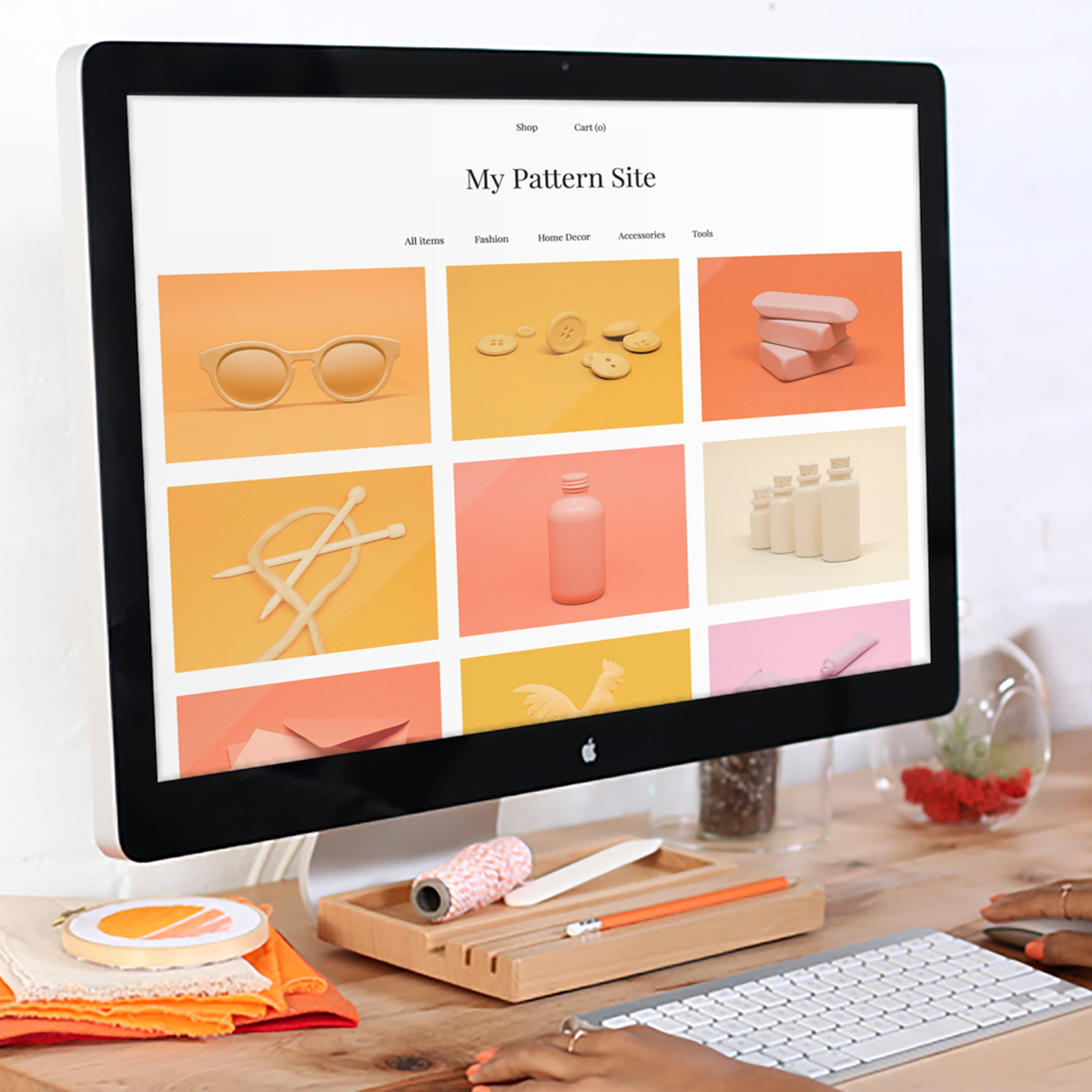 Etsy launches pattern a website builder for its sellers techcrunch jeuxipadfo Choice Image