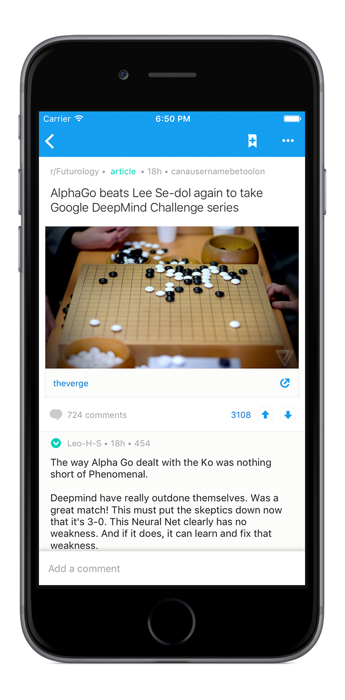 Reddit Launches Its First Official Apps For Ios And Android Techcrunch