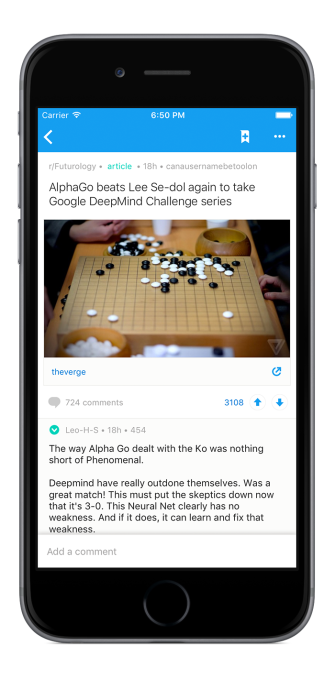 Reddit launches its first official apps for iOS and Android | TechCrunch