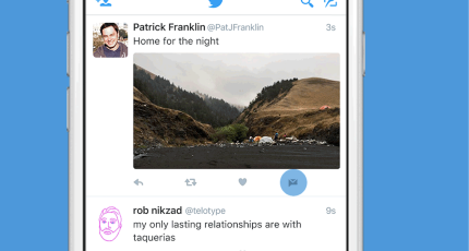 Twitter makes it easier to share tweets privately with new