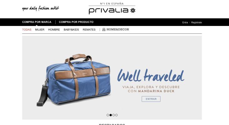 vente privee buys spanish fashion ecommerce site privalia for 560m techcrunch