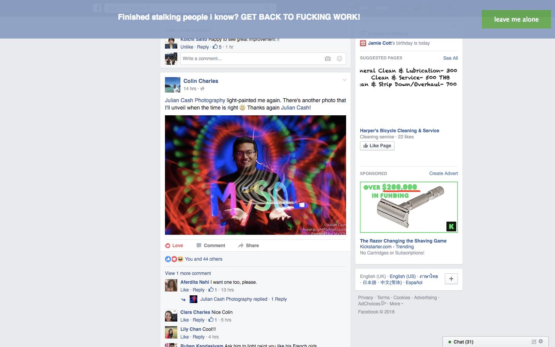 Focusbook helps you fight your Facebook addiction | TechCrunch